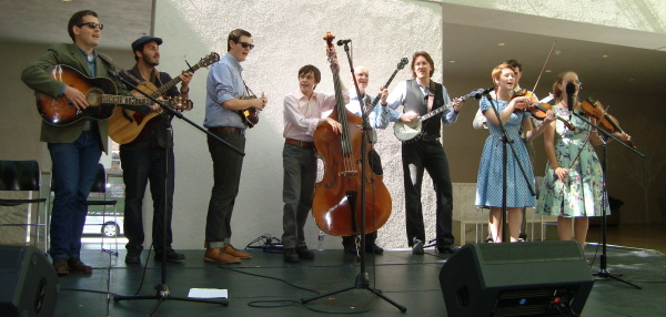 The Bluegrass Ensemble at the Hammer (with Prof. Seeger)