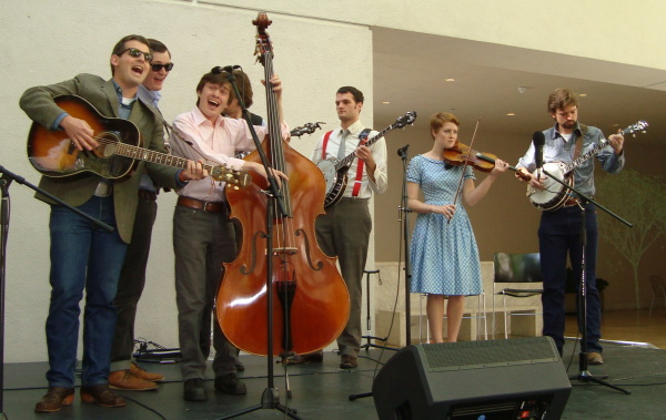 The Bluegrass Ensemble at the Hammer (with Tommy)