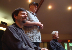 Greg Howard, Jim Meyer, and Bob Culbertson