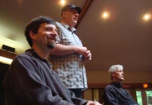 Greg Howard, Jim Meyer, and Bob Culbertson